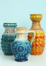 Group of Bay vases
