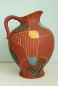 Bay vase design Bodo Mans 1950s decor Brasil form number 297-30