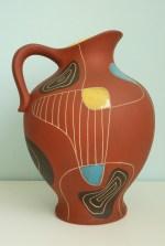 Bay vase design Bodo Mans 1950s decor Brasil form number 297-30
