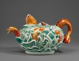 "Teapot Meissen porcelain, c.1729–31, 1996.337; H: 4 7/8"" (12.4 cm) The Arnhold Collection Photo: Maggie Nimkin"
