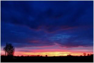7-Februar noch ein (kurzer!) schöner Morgenhimmel