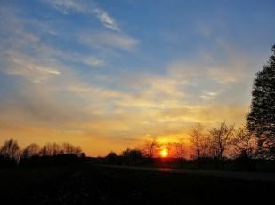 14-April Sonnenuntergang