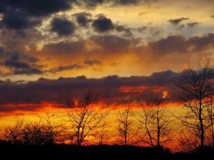 4-April Sonnenuntergang