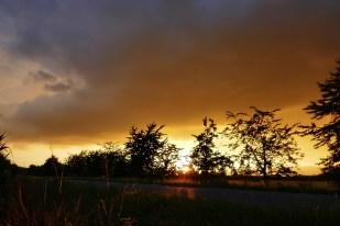 29-Juli Sonnenuntergang
