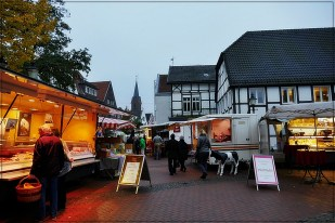 21-Oktober Markt in Oelde