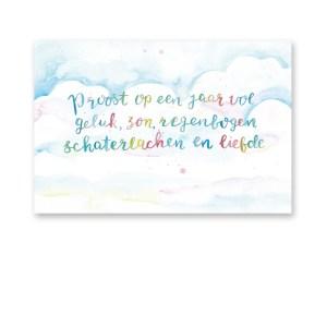 wenskaart verjaardag dreams by petra van dreumel
