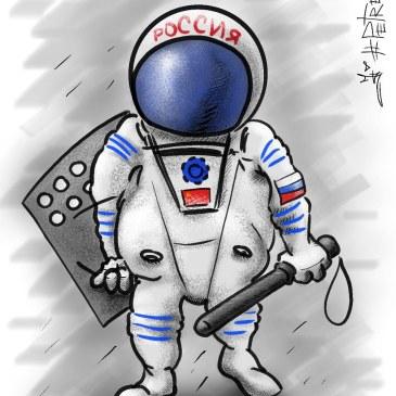 Россию спасут роскосмос  плюс росгвардия…
