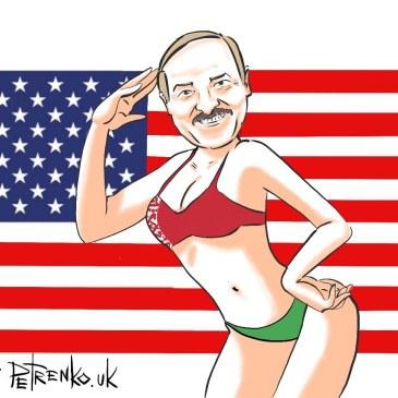 лукашэнка — бацька ўсёй амерыкі…