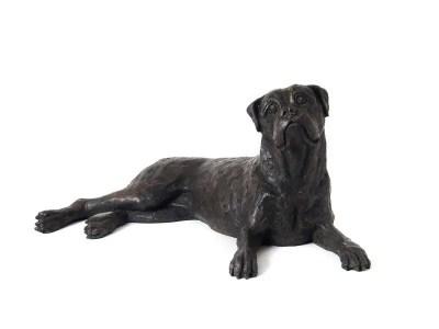 Boxer Dog Urn