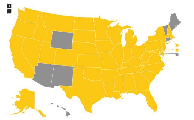 US states with HIV criminalization laws