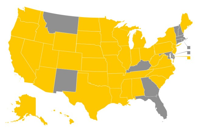 Involuntary Outpatient Commitment Laws are in 38 states and DC.