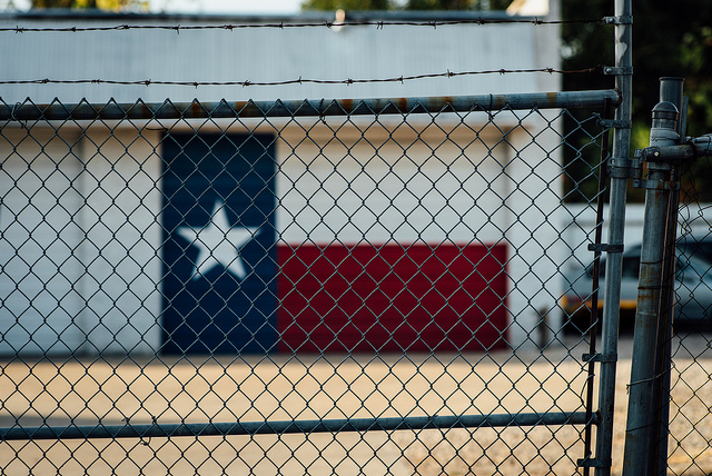 Photo: Texas + Fence