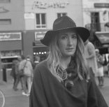 Young Woman (London): September 2017 (Fed 2: Kentmere 100)