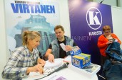 Turun kirjamessut valokuvaaja Petri Jauhiainen