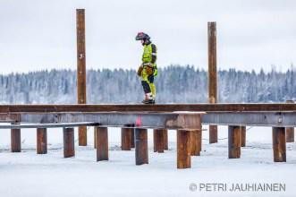 Siltatyömaa Jännevirta valokuvaaja Petri Jauhiainen
