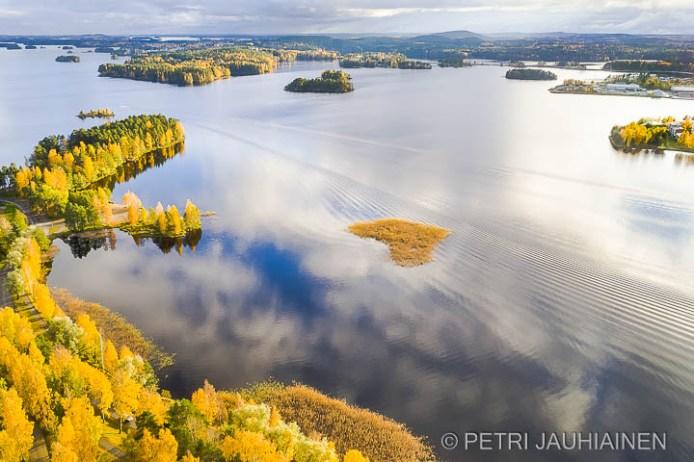 Ilmakuvaus droonella valokuvaaja Petri Jauhiainen