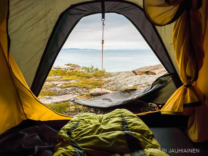 Retkellä Norjassa valokuvaaja Petri Jauhiainen