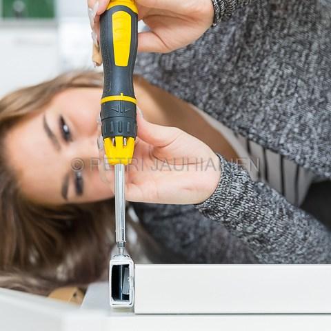 Ikean pöytä valokuvaaja Petri Jauhiainen