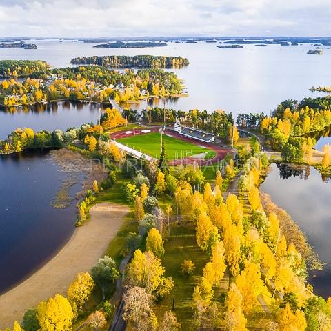 Väinölänniemi ilmakuvaus valokuvaaja Petri Jauhiainen