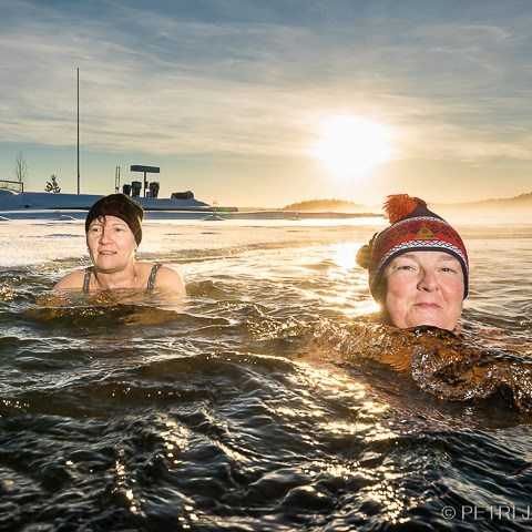 Avantouinti valokuvaaja Petri Jauhiainen Kuopio