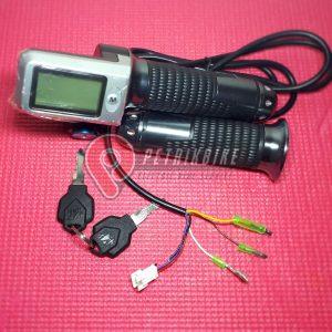 Handle Gas Sepeda Listrik LCD