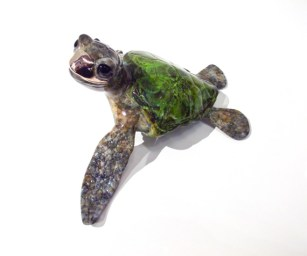 "Aloha, Medium: Bronze Size: 5"" x 6.5"" x 3.5"" Edition: 250 Catalog: #BT10 Artist: Chris Barela"