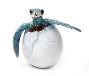 "Kiko, Medium: Bronze Size: 3.5"" x 2"" x 3"" Edition: 500 Catalog: #BT5 Artist: Chris Barela"
