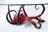"Octopus-Table, Medium: Bronze Size: 18"" x 33"" Artist: Chris Barela"