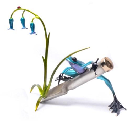 Blue Bell, NEW RELEASE Release: 2015 Edition: 500 Medium: Bronze Catalog: BF192 Artist: Frogman