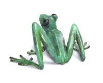 "Freddie, Release: 2015 Medium: Bronze Catalog: BF203 Edition Size: 250 Size: 6"" x 4"" x 2.5"" Artist: Frogman"