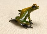 "Gem, Medium: Bronze Catalog: BF94 Size: 2.25"" x 3.5"" x 3"" Artist: Frogman"