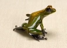 "Gem, Medium: Bronze Catalog: BF94 Size: 2.25"" x 3.5"" x 3"" Artist: Frogman"