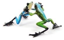 "Jitterbug, Medium: Bronze Catalog: BF125 Size: 3.5"" x 7.5"" x 5.5"" Artist: Frogman"