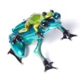 "Joy Ride, Medium: Bronze Release: 2011 Edition: 2000 AP/100 Catalog: BF150 Size: 5"" x 5"" 3.5"" Artist: Frogman"