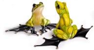 "Jump Start, Medium: Bronze Release: 2010 Edition: 2000 Catalog: BF139 Size: 5"" x 4.75"" x 10.25"" Artist: Frogman"