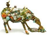 "Alberta, Medium: Bronze Size: 23"" X 16"" X 10"" Artist: Nano Lopez"