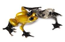 "Love, Medium: Bronze Release: 2013 Edition: 2500 AP/100 Catalog: BF157 Size: 4"" x 7.25"" x 1.5"" Artist: Frogman"