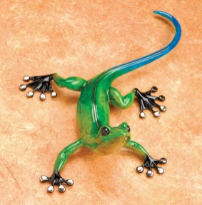 "Margarita, Medium: Bronze Catalog: BG2 Size: 11"" x 9"" x 3.5"" Artist: Frogman"