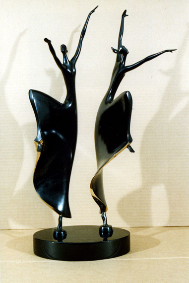 Joy Of DanceII, Medium: Bronze Size: Artist: Dan McDermott