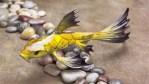 "Mellow Yellow, Medium: Bronze Catalog: BK3 Size: 4"" x 10.5"" x 4"" Artist: Frogman"