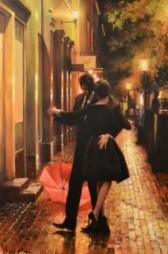 "Spontaneous, Medium: Original Oil on Canvas Size: 36"" x 24"" #20333 Artist: Daniel del Orfano"