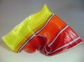 "Color-Wheel-Waltz, Medium: Glass Tapestry Sculpture Size: 20"" x 13"" x 12"" Artist: Carole Perry"