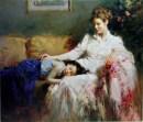 "Innocence, Medium: Hand Embellished Giclee Size: 30"" x 36"" Artist: Pino"