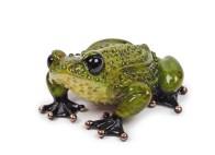 "Prince Charming, Medium: Bronze Catalog: BF127 Size: 1.875"" x 3.5"" x 3.75"" Artist: Frogman"
