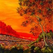 "Vivid Recall, Medium: Original Acrylic on Canvas Size: 30"" x 30"" Artist: Ford Smith"