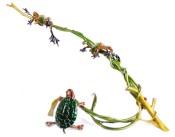 "Turtle Creek, Medium: Bronze Release: 2010 Edition: 750 Catalog: BF135 Size: 10.25"" x 21"" x 12.25"" Artist: Frogman"