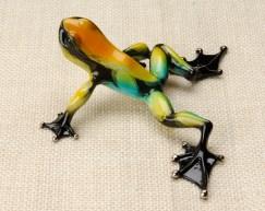 "Zorro, Medium: Bronze Catalog: BF105 Size: 2"" x 5.75"" x 4.5"" Artist: Frogman"