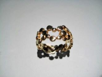14K Gold Ring Artist: Petri's Gallery Catalog: 897-88-4