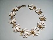 14K Gold Bracelet with White Mother of Pearl Artist: Kabana Stavros Catalog: 895-70-4