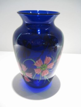 Cobalt Vase Artist: Orient & Flume Catalog: 897-11-3